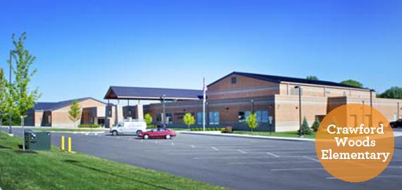 Crawford Woods Elementary Slider Image